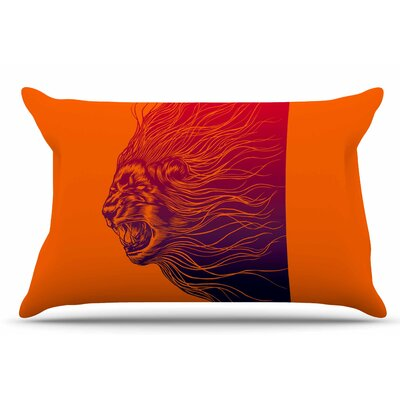 Furious+ by BarmalisiRTB Pillow Sham Size: King