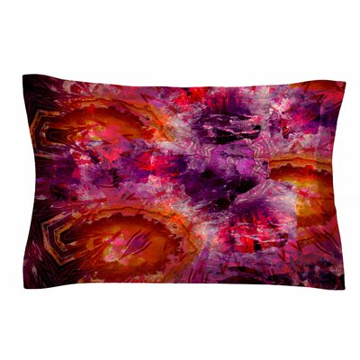 Gem Stone by Suzanne Carter Pillow Sham Size: Queen