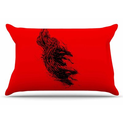 Came From Hell by BarmalisiRTB Pillow Sham Size: King
