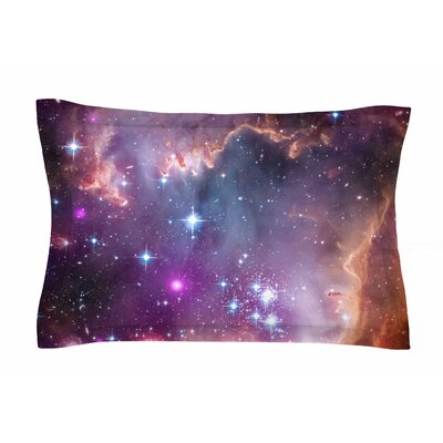 Cosmic Cloud by Suzanne Carter Pillow Sham Size: Queen