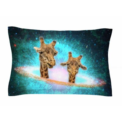 Fred & Larry by Suzanne Carter Pillow Sham Size: Queen