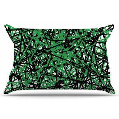 Trava V.4 by Trebam Pillow Sham Size: King