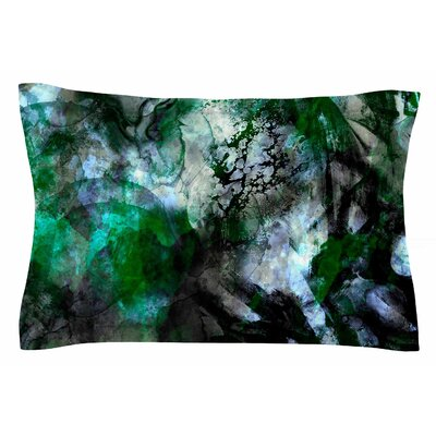 Camouflage by Shirlei Patricia Muniz Pillow Sham Size: Queen