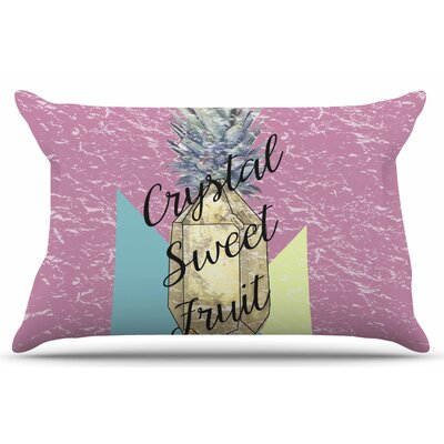 Crystal Sweet Fruit by Victoria Krupp Pillow Sham Size: King