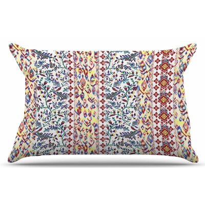 Arabesque Panel by Victoria Krupp Pillow Sham Size: King