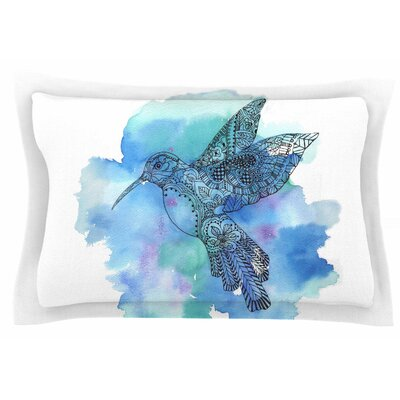 Hummingbird by Sonal Nathwani Pillow Sham Size: Queen