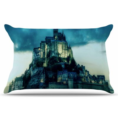 Haunted Castle by 888 Design Pillow Sham Size: King
