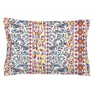 Arabesque Panel by Victoria Krupp Pillow Sham Size: Queen
