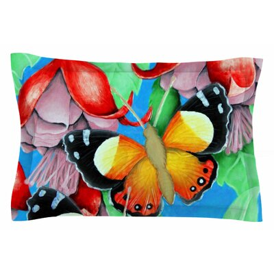 Yellow Admiral by Vinny Thompson Pillow Sham