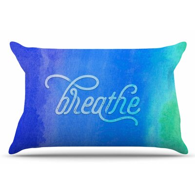 Breathe by Noonday Design Pillow Sham Size: King
