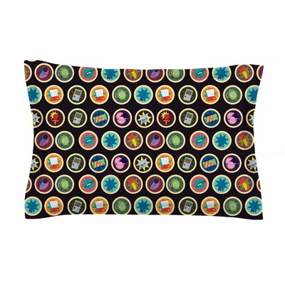 Toys, Games & Candy by Stephanie Vaeth Pillow Sham Size: Queen