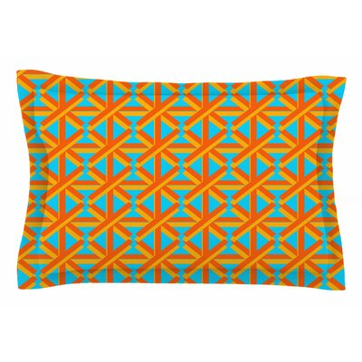 Topao by Trebam Pillow Sham Size: Queen