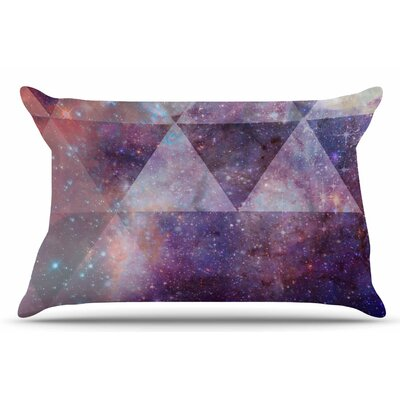 Geometric Stars by Suzanne Carter Pillow Sham Size: King