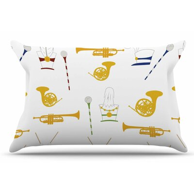 Marching Band by Stephanie Vaeth Pillow Sham Size: King