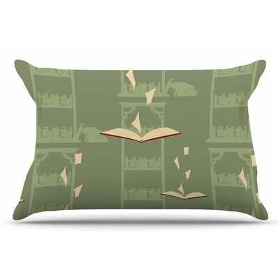 Library by Stephanie Vaeth Pillow Sham Size: King