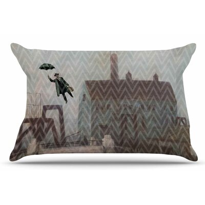 Away by Suzanne Carter Pillow Sham Size: King