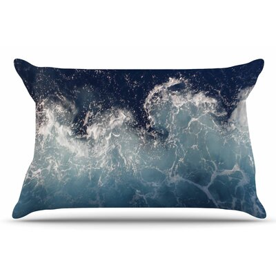 Sea Spray by Suzanne Carter Pillow Sham Size: King