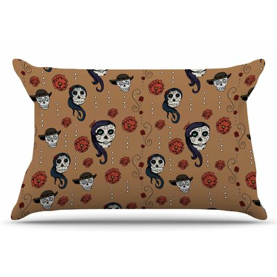 Calaveras by Stephanie Vaeth Pillow Sham Size: King