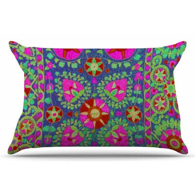 Kashmeer Love by S Seema Z Pillow Sham Size: King