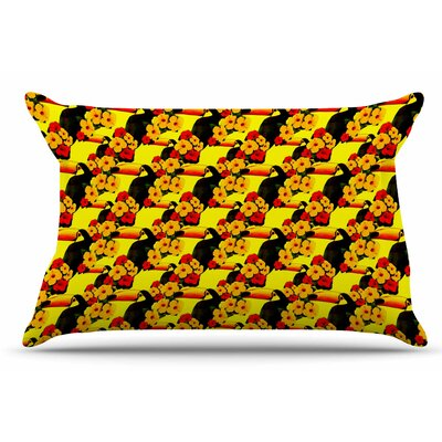Love Toucans by Shirlei Patricia Muniz Pillow Sham Size: King