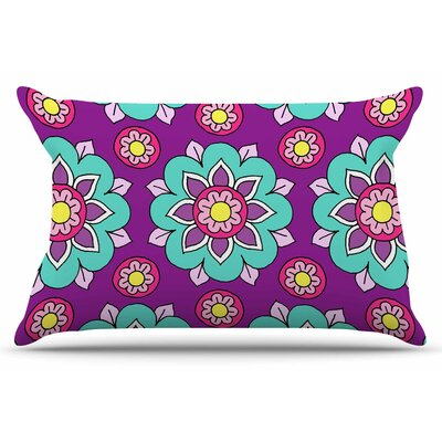 Bright Blossoms by Sarah Oelerich Pillow Sham Size: King