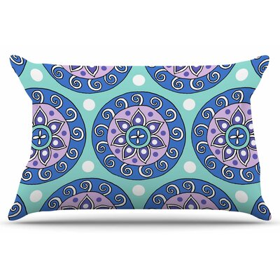 Mandala Dot by Sarah Oelerich Pillow Sham Size: King