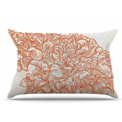 Lettuce by Sam Posnick Pillow Sham Size: King