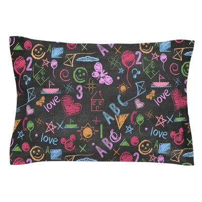 Kindergarden Crazy by Snap Studio Pillow Sham Size: Queen
