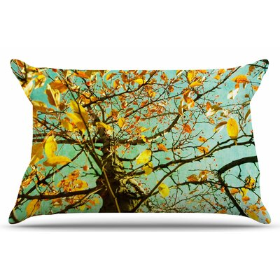 Autumn Tree by Sylvia Coomes Pillow Sham Size: King