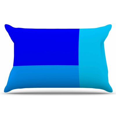 Bluz V.3 by Trebam Pillow Sham Size: King