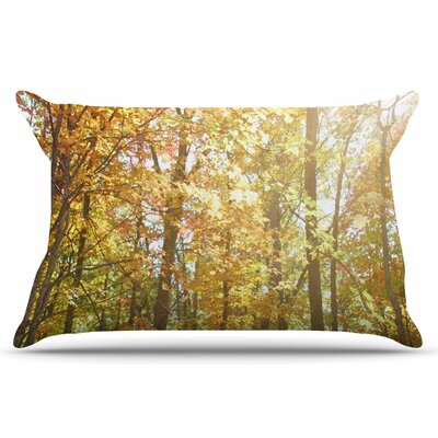 Autumn Trees 2 by Sylvia Coomes Pillow Sham Size: King