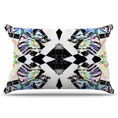 Abstract Zebra by Vasare Nar Pillow Sham Size: King