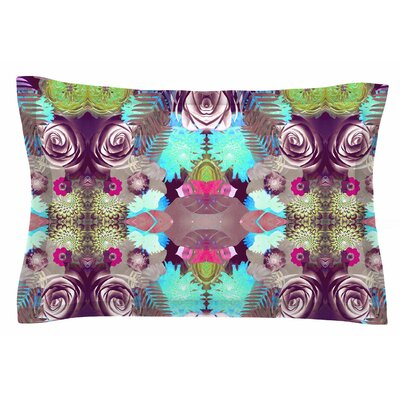 Kaleidoscopic Boho by Vasare Nar Pillow Sham Size: Queen