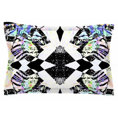 Abstract Zebra by Vasare Nar Pillow Sham Size: Queen