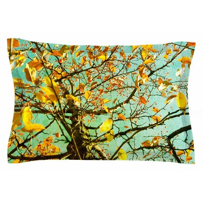 Autumn Tree by Sylvia Coomes Pillow Sham Size: Queen
