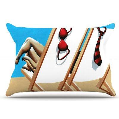 Vacation by Thomas Fuchs Pillow Sham Size: King