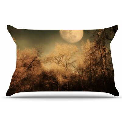 Full Moon by Sylvia Coomes Pillow Sham Size: King