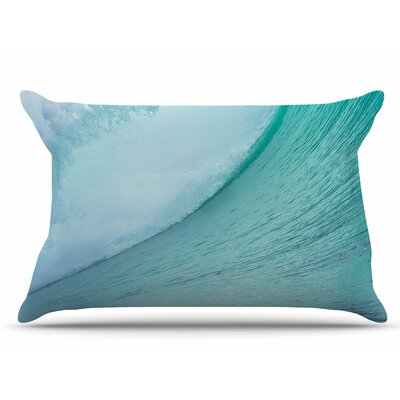 Ocean Wave by Susan Sanders Pillow Sham Size: King