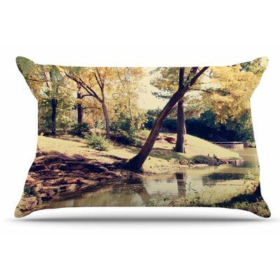 Walk in The Park by Sylvia Coomes Pillow Sham Size: King