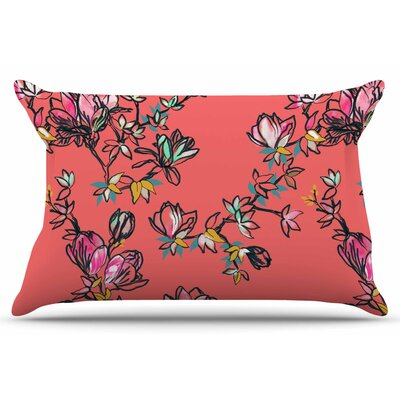 Magnolia by Victoria Krupp Pillow Sham Size: King