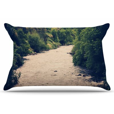 Cold Stream by Sylvia Coomes Pillow Sham Size: King