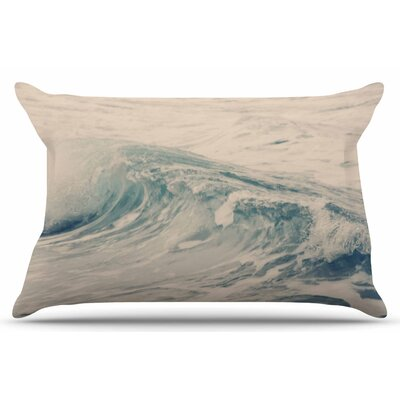 Waves 1 by Sylvia Coomes Pillow Sham Size: King