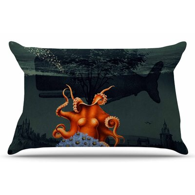 Under the Deep Sea by Suzanne Carter Pillow Sham Size: King