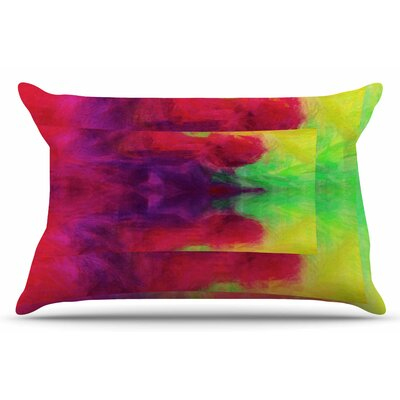 Color Block by Suzanne Carter Pillow Sham Size: King