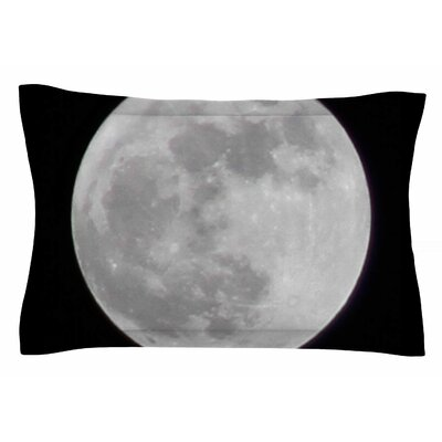 The Moon by Sylvia Coomes Pillow Sham Size: Queen