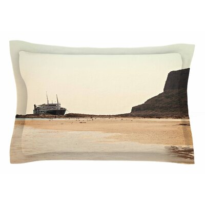 Nautical Bliss by Sylvia Coomes Pillow Sham Size: Queen