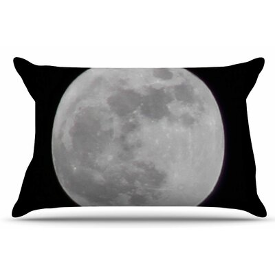 The Moon by Sylvia Coomes Pillow Sham Size: King