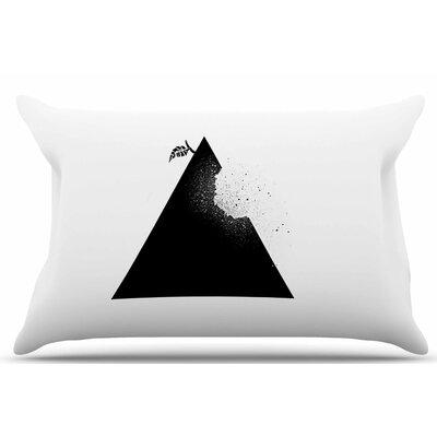 Apple Pyramid by BarmalisiRTB Pillow Sham Size: King