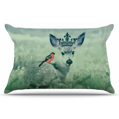 The Night Meadow by Suzanne Carter Pillow Sham Size: King