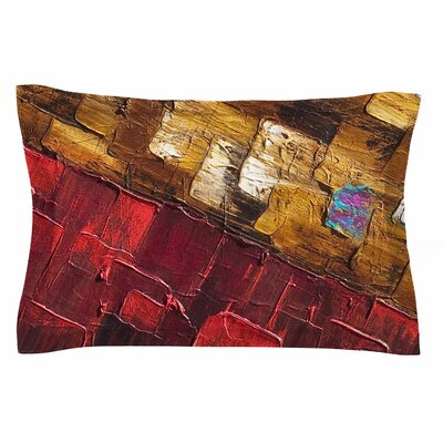 Movement Beneath by Steven Dix Pillow Sham Size: Queen